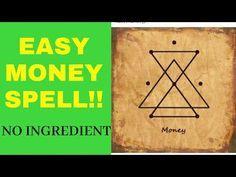 Powerful Money Spells, Money Spells That Work, Spells That Really Work, Hoodoo Spells, Magick Spells, Healing Spells, Wiccan, Reiki Symbols, Magic Symbols