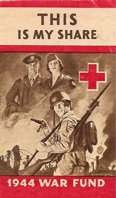 American Red Cross, 1944 War Fund Pamphlet: This Is My Share.