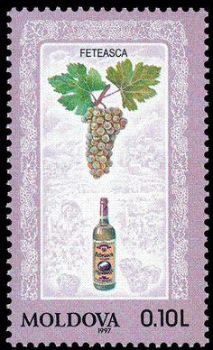 Stamp: Feteasca (Moldova) (Moldovan Wines) Mi:MD 225