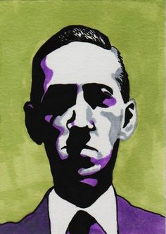 H.P. Lovecraft by *MisterSali on deviantART