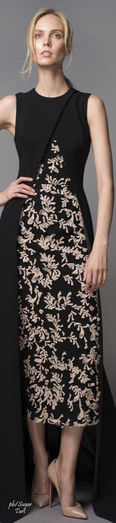 Bibhu Mohapatra Resort 2016  women fashion outfit clothing stylish apparel @roressclothes closet ideas