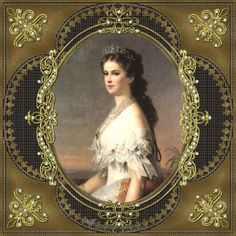 Empress Elisabeth of Austria.