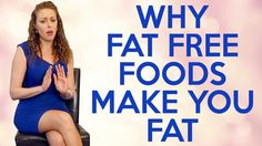 A Weight Loss Mistake: FAT FREE FOODS! Tips for Belly Fat, Bloating, How to Lose Weight, Burn Fat & Get Fit!  Corrina explains why fat free and lowfat foods cause weight gain and stubborn belly fat. Is fat free yogurt healthy? Greek yogurt? Skim Milk? Fat free peanut butter...?