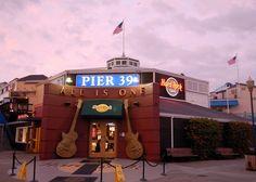Hard Rock Cafe in San Francisco!