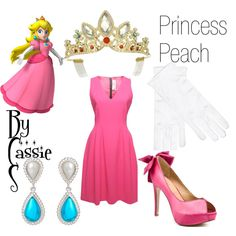 """Princess Peach"" by lilcassie7 on Polyvore"