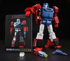 Transformers X-Transbots MM-VI Boost Windcharger in Stock #XTRANSBOTS