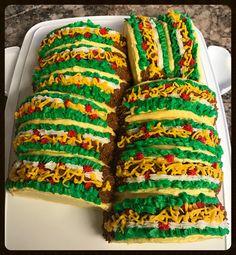 Taco cake idea