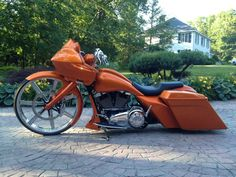 AUDIOWERKS CUSTOM CYCLES 2013 Custom Bagger Harley Davidson Road Glide AWcycles.net