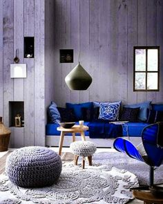 La Petite Anne: Barevná paleta - kobaltová modř