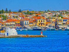 Aegina, Greece. Tourism