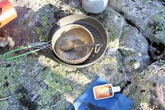How to Wash Dishes in Camp -   No sink? No problem. Here's a step-by-step guide to backcountry dish scrubbing.
