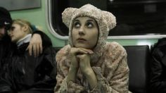 Eszter Balla (Hungarian actress) as a cute bear Away We Go, Chiaroscuro, Working Class, Cute Bears, Documentary Film, Photography Props, Image Sharing, Good Movies, Love Story