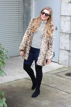 leopard print and stripes - Steve Madden