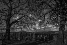 Ein alter Friedhof in .....