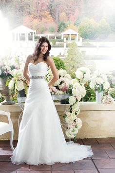3760 from Sincerity Bridal Available at Ella Park Bridal- Newburgh, IN 812-853-1800 www.ellaparkbridal.com