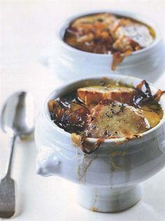 Zuppa di cipolle alla francese