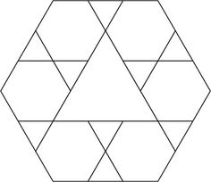 Hillbilly Handiworks: Ahhh #39: Braided Triangle