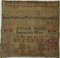 SMALL-EARLY-19TH-CENTURY-SAMPLER-BY-DINAH-BOND-1833
