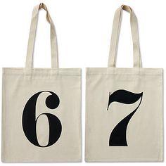 number tote 67