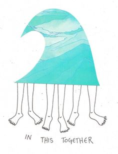 Fins and legs by TY WILLIAMS