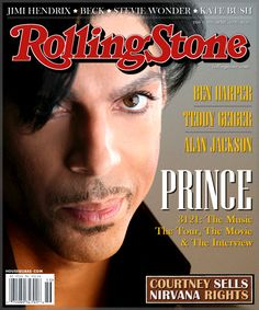 Image result for rolling stone magazine prince