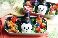 adorable! minnie and mickey celebrating Thanksgiving!