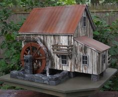 Old mill bird house