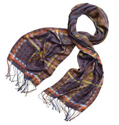 The Grand Canal - Handwoven Scarf - Heirloom Collection