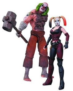 Mr Hammer And Harley Quinn