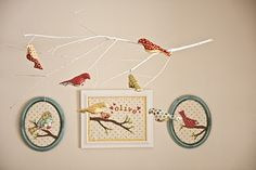 Olive's Baby Bird Mobile