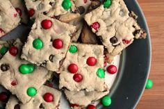 Add a tasty treat to your holiday dessert table with these M&M Christmas Cookie Bars. Give as a gift, surprise your family or take along to holiday parties