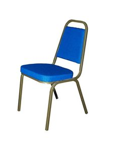 Royal Blue stacking chairs for sale