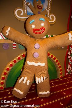Gingy at Disney Character Central