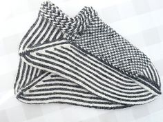 Twined Knitting Slippers (2)
