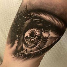 Amazing artist Martin Wikstroem @martin_wikstroem awesome clock eye tattoo! @art_spotlight @sullenclothing @bnginksociety @wowtattoo @voguemagazine @mindblowingtattoos @crazyytattoos @sephora #martinwikstroem #eyes #artsy #arm #vogue #photorealism #realism #eyetattoo  #hm #westcoast #awesome #portraits #3d  #la #europe #cali #style #blackandgrey #eye #clock #nikinorberg #artwork #beautiful #sweden #sullenclothing  #roman  #portrait #realism #iris #tattoo  #ink