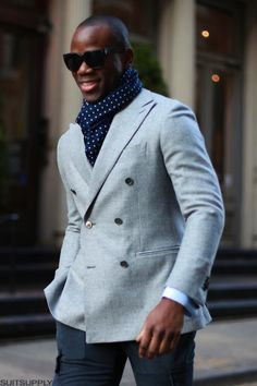 suitsupply:  Hit the Streets Finding a heavier wool sport coat...