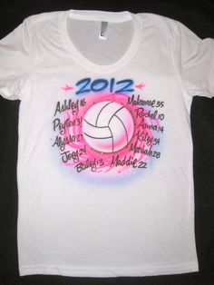 volleyball tees
