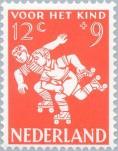 ♥ ◙ The Netherlands, Postage Stamp, 1958. ◙