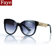 Encontrar Más Gafas de Sol Información acerca de 2015 nuevo ojo de gato mujeres diseñador de la marca gafas de sol para mujer gafas de sol feminino S384, alta calidad vidrios frescos, China gafas de policía Proveedores, barato gafas con luz led de Faye Glasses en Aliexpress.com