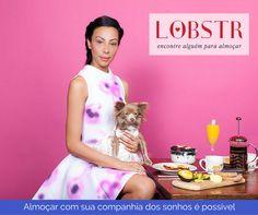 Os sonhos se tornarão realidade em breve. Solicite seu convite aqui: http://getLobstr.com #companhiaperfeita #almoço #amor #lobstr