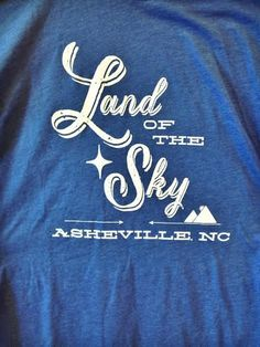 Land of the Sky Asheville NC t-shirt by HelloLittleBungalow on etsy