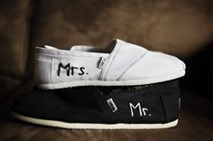 i absolutely want wedding toms. maybe just for the reception?