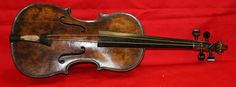 """The violin played by bandmaster Wallace Hartley as Titanic sank survived and was found in a North Yorkshire attic in 2006. After years of careful research & scientific analysis, it is authenticated. The owner found it in a leather luggage case monogrammed """"W. H. H."""" while looking thru his mom's belongings. She was a musician and a letter was found inside the case from violin instructor, who gave it to her. Also inside was Hartley's silver cigarette case and a signet ring."""