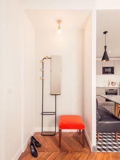 Coin repas dans cuisine Appartement Parisien de 320m2 GCG