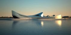 AECCafe.com - ArchShowcase - Regium Waterfront in Reggio Calabria, Italy by Zaha Hadid Architects