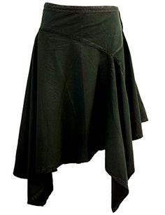 black cotton pixie skirt <3