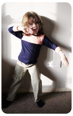 jersey top, ripstop pants