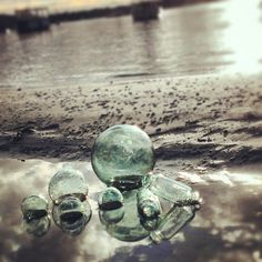 Glass buoys