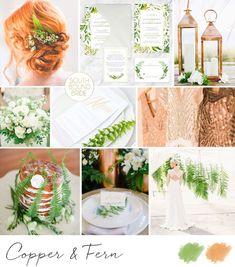 Greenery: Pantone Color of the Year 2017 Wedding Color Combinations, Wedding Color Schemes, Wedding Colors, Boho Wedding Decorations, Wedding Greenery, Pantone Greenery, Color Of The Year 2017, Inspiration Boards, Wedding Inspiration