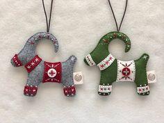 Horse Christmas Ornament, Felt Christmas Ornaments, Christmas Stockings, Christmas Tree, Felt Decorations, Christmas Decorations, Dala Horse, Yule Goat, Swedish Traditions